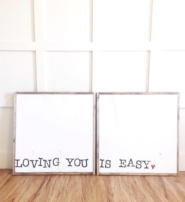 Loving You Is Easy - Double Set