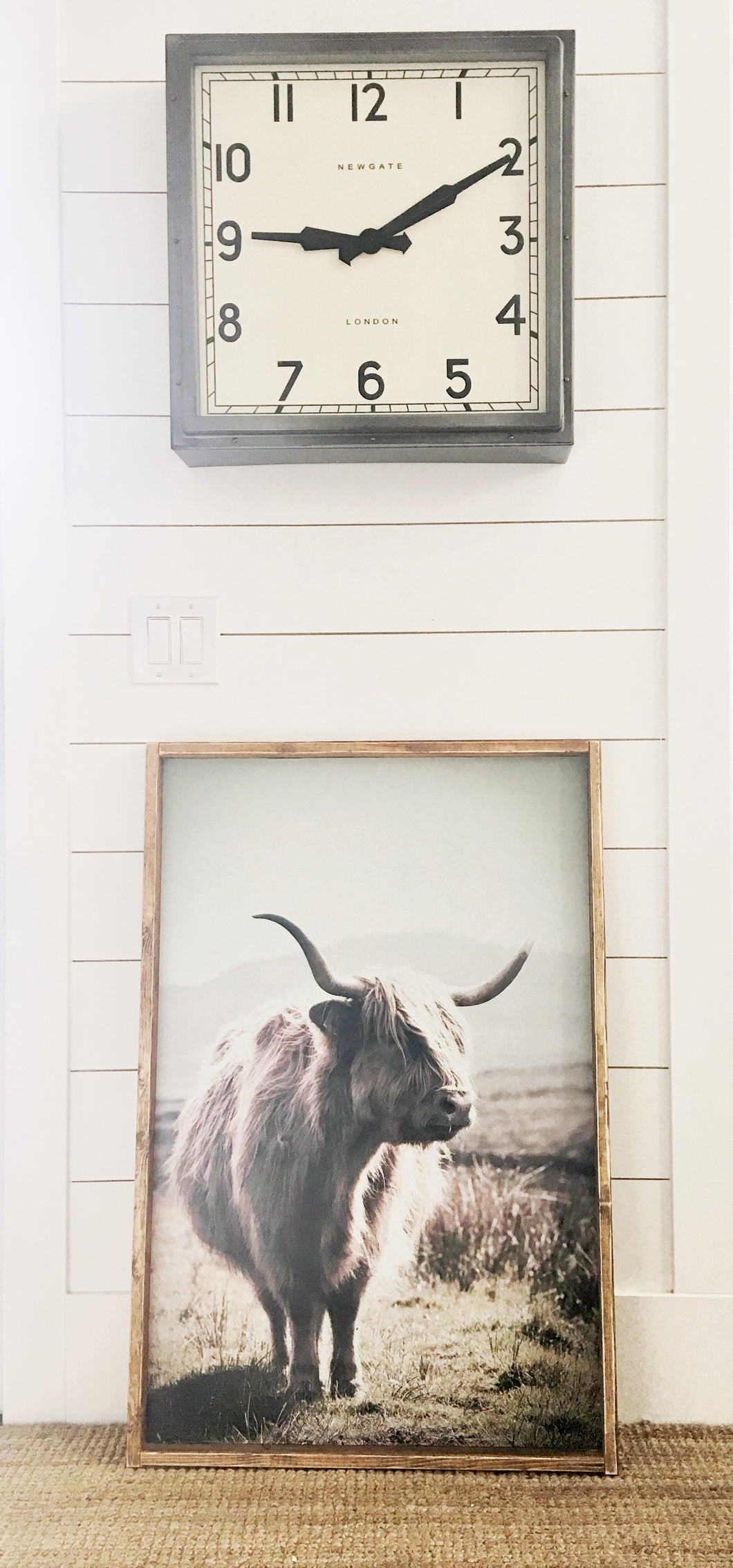 Philip Cow - Print On Wood or Print Only