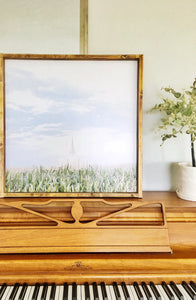 Gilbert Temple Corn Field - Picture or Wood Sign