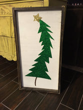 Grinch Tree Wood sign