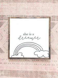 She is a dreamer Wood sign