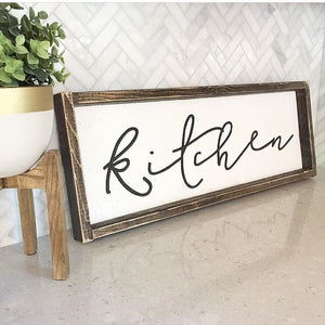 Kitchen - Cursive