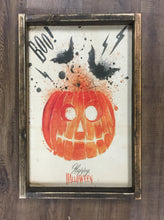 Halloween vintage paper signs