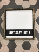 Just Stay Little