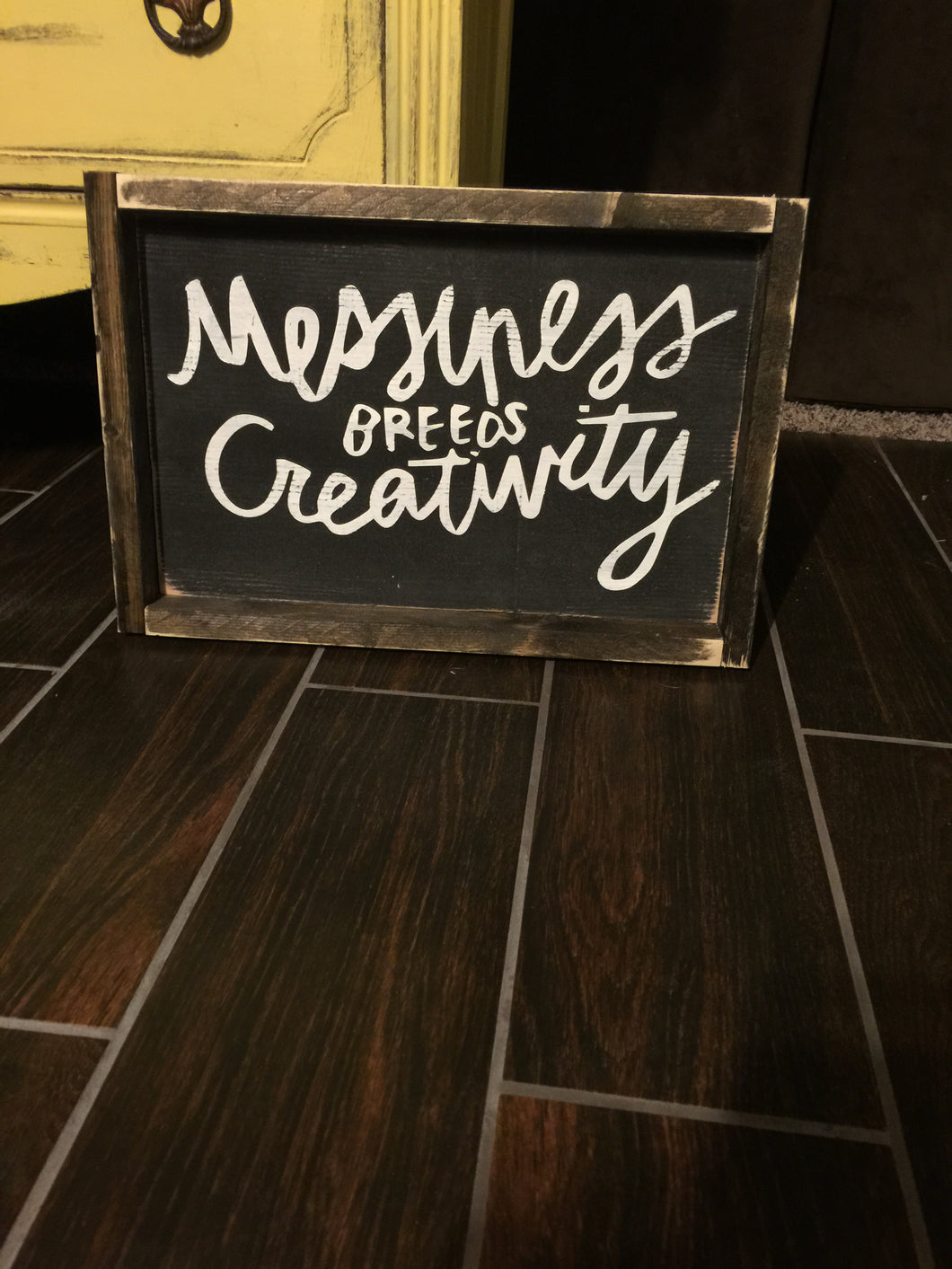 Messiness Breeds Creativity