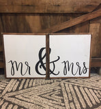 Mr & Mrs - Double Set