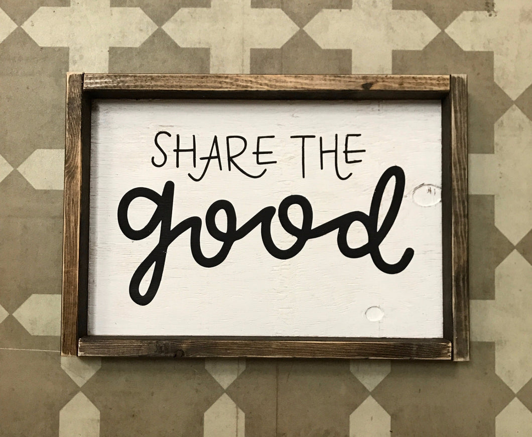 Share the Good