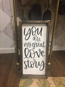 You Are My Great Love Story