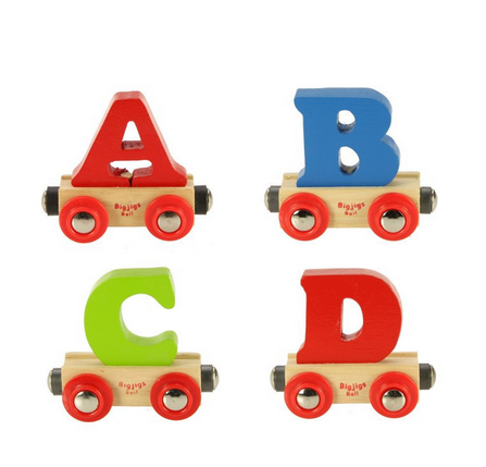 Rail Name Wooden Letters