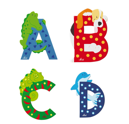 SEVI Animal Wooden Letters