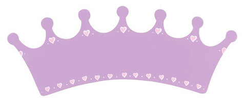 Name Plaque | Long Lilac Crown