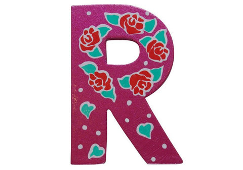 Pink Fairytale Letter R