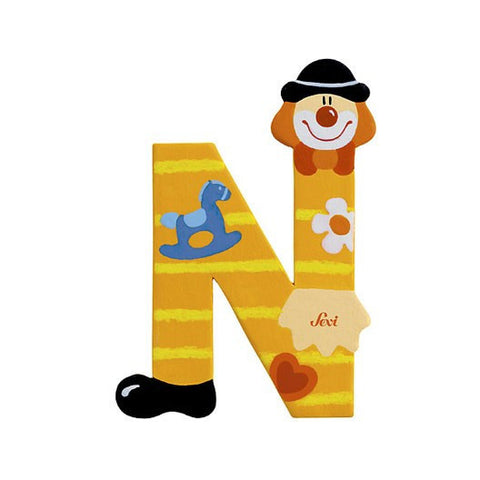 Sevi Clown Letters | N