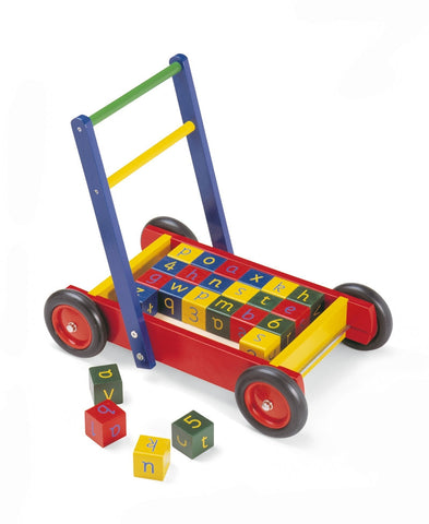 Pintoy | Baby Walker with Alpabet Blocks