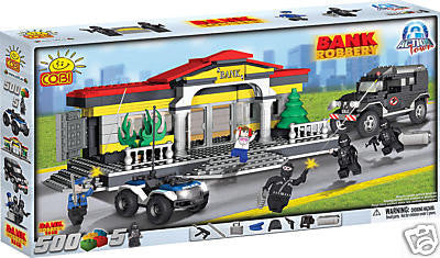 Bank Robbery - COBI Action Town Building Blocks