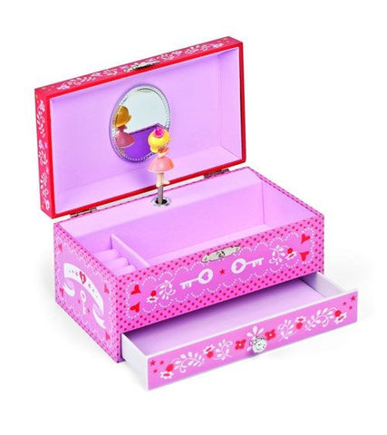 Natashka Music Jewellery Box - Janod 2965