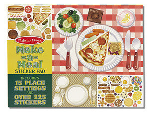 Make-a-Meal Sticker Pad - Melissa and Doug 14193