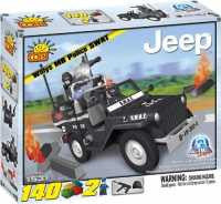 Willy's Mb Police Swat Jeep - Cobi Blocks