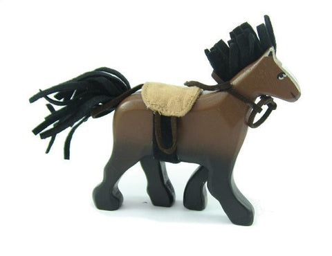 Le Toy Van | Budkins Brown Horse with Saddle