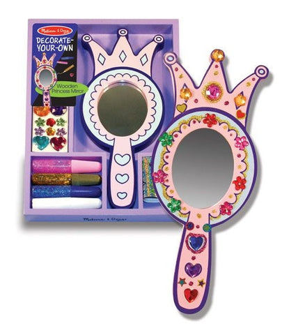 Decorate Your Own - Princess Mirror - Melissa and Doug 13096