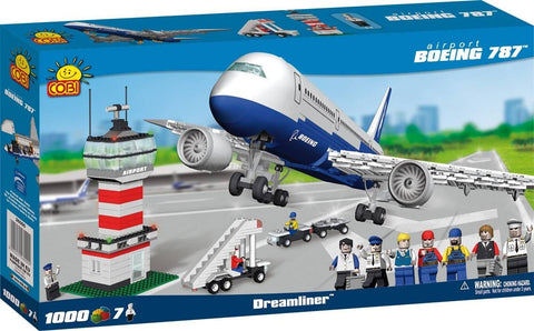 Boeing 787 with Airport - COBI Action Town