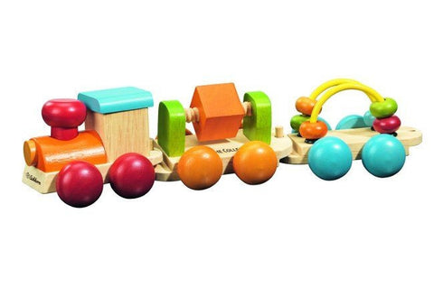Activity Stacking Train by Eichhorn - Beads
