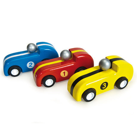 Le Toy Van | Pull Back Racers - Set of 3