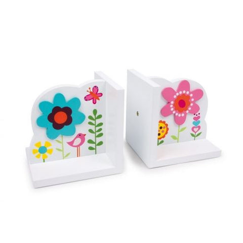 Bookends - Flowers - L6582