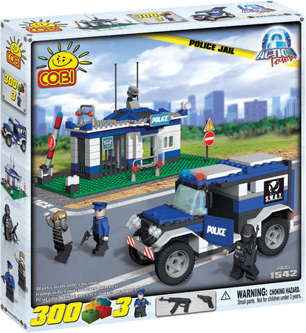 Police Jail - COBI Action Town Building Blocks - DAMAGED PACKAGING
