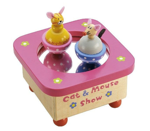 Tildo | Cat and Mouse Music Box