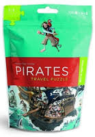 100-piece Travel Puzzle in a Pouch - Pirates