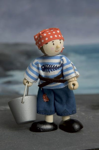 Budkins Jacob the Pirate - Le Toy Van BK979