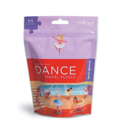 100-piece Travel Puzzle in a Pouch - Dance