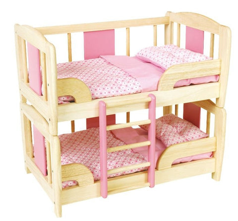 Pintoy | Dolls Wooden Bunk Bed