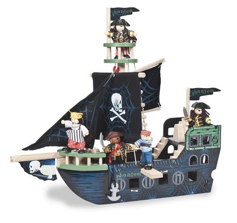 Ghost Pirate Ship by Le Toy Van TV340