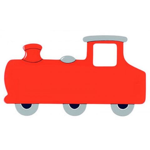Name Plaque | Small Red Train