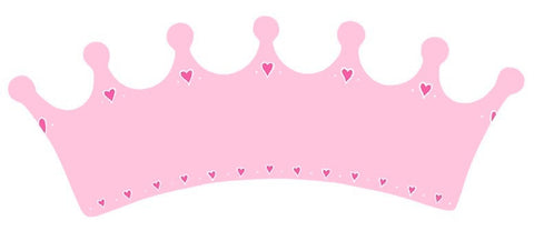 Name Plaque | Long Pink Crown