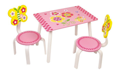 Leonor Table Plus 2 Chairs Set