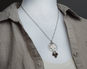 Maple Leaf Charm Necklace
