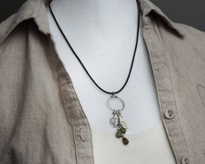 Grow Fern Leaf Charm Necklace