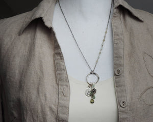 Explore Pine Cone Charm Necklace