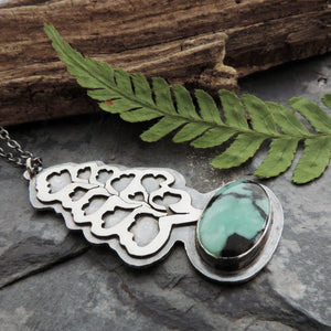 handmade nature jewelry with gemstone