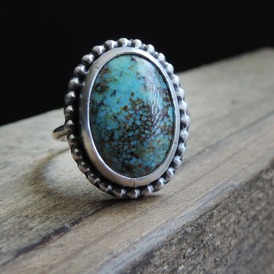 Sky Song Turquoise Gemstone Ring - Size 7