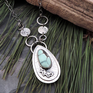 Poseidon Variscite Nature Inspired Necklace