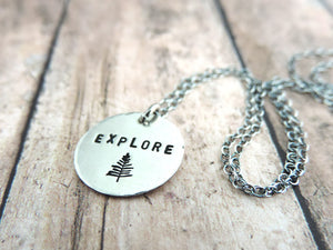 explore mantra necklace