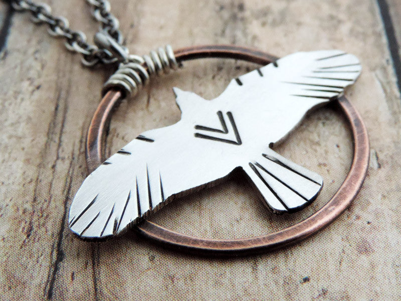 bird totem necklace