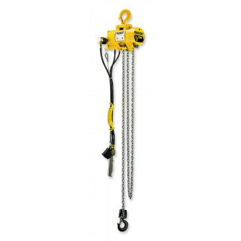 1 Ton Series 2200 Hoist (10' Lift, 23 FPM, Top Hook)