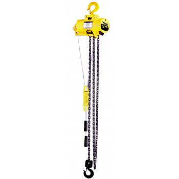 1/4 Ton YAL Hoist (10' Lift, 65 FPM, Top Hook)