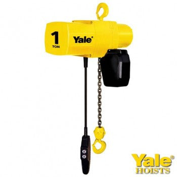 1 Ton YJL-V Hoist (10' Lift, 16 FPM, Top Hook)
