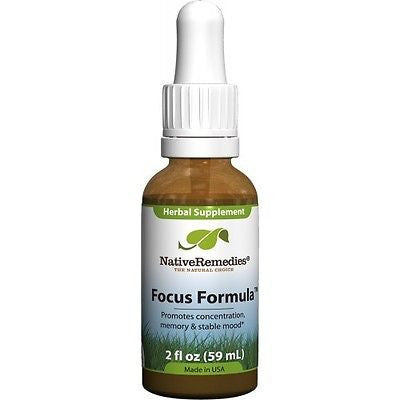 Native Remedies - Focus Formula (3 Bottles)